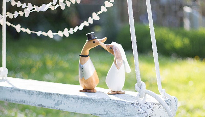 Wedding gift ideas and theme inspiration from The Duck Company!