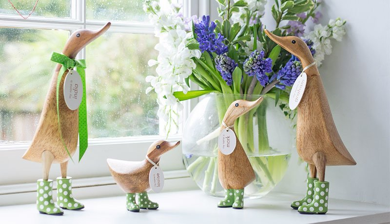 Accessorise your home with your own DCUK duck or penguin family!
