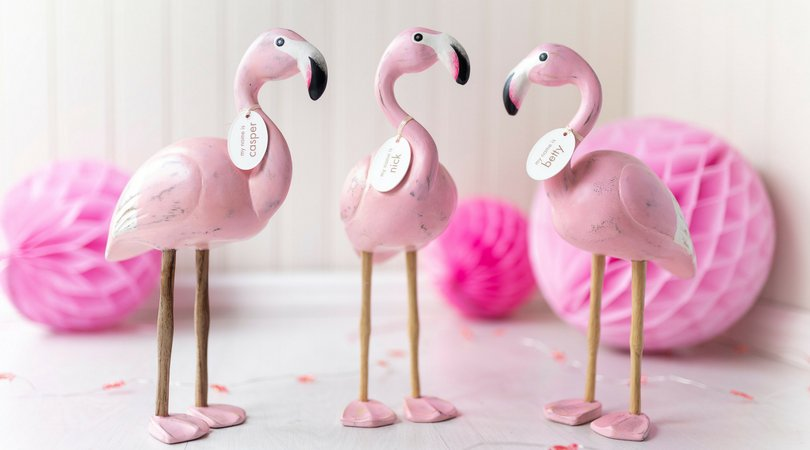 Flamingos, gifting, gift, pink gifts, gifts for her