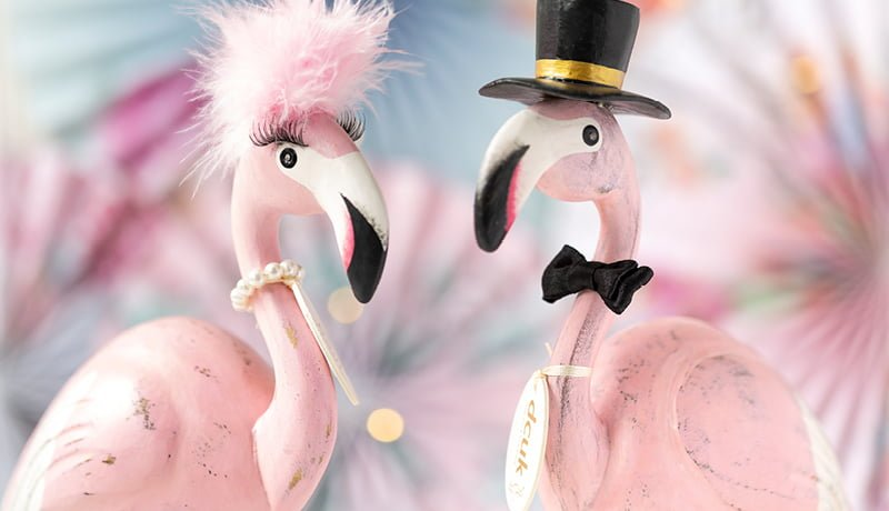Flamboyant Flamingos: The Perfect Alternative Gift Idea