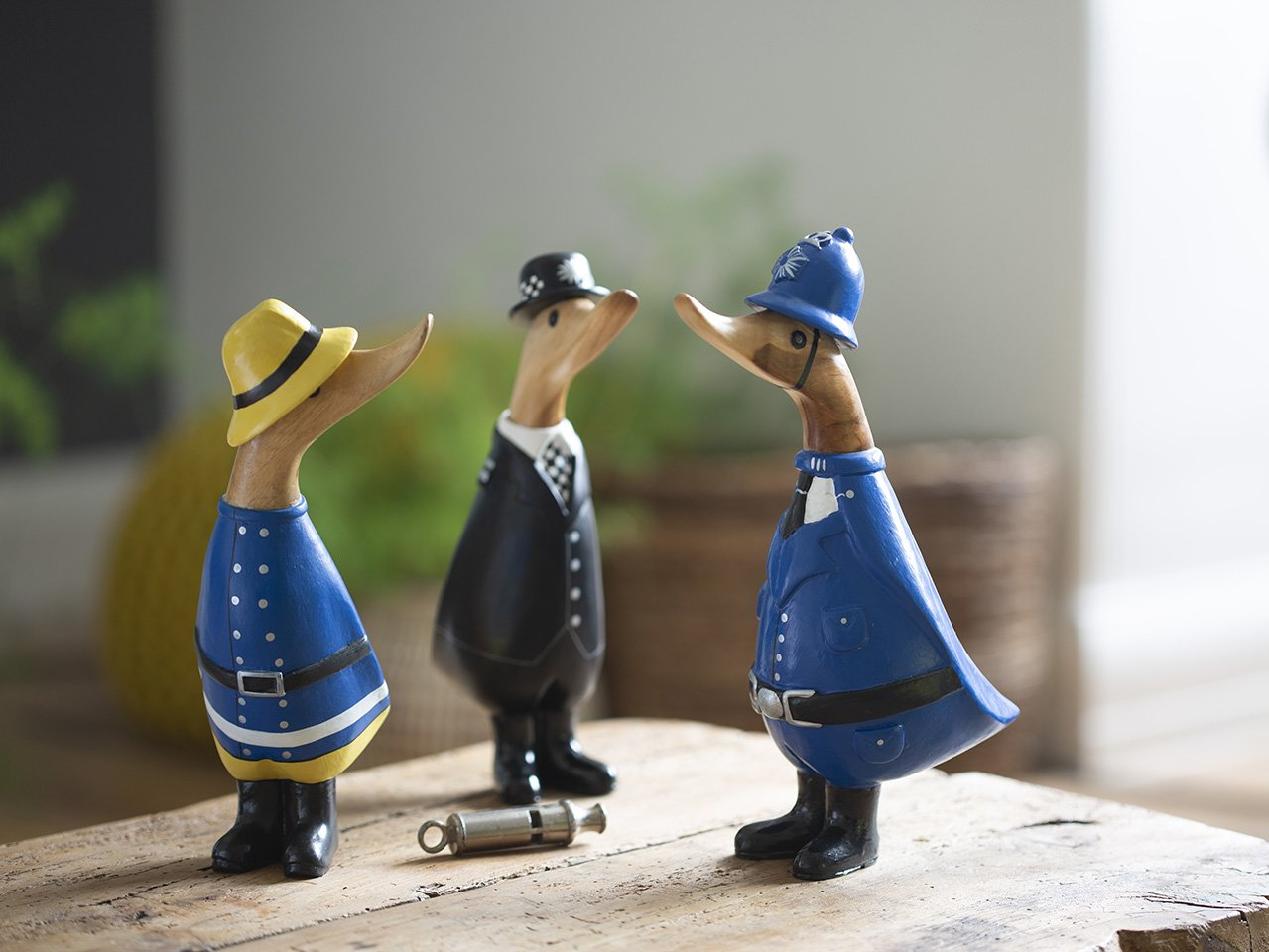 Group of police officer ducks - gifts for workaholics