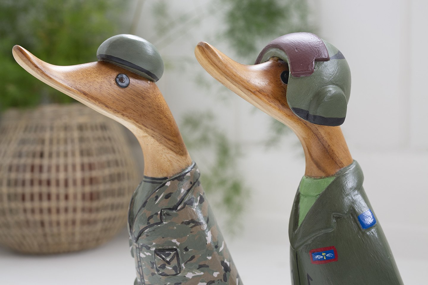 Armed forces ducks - gifts for servicemen and women