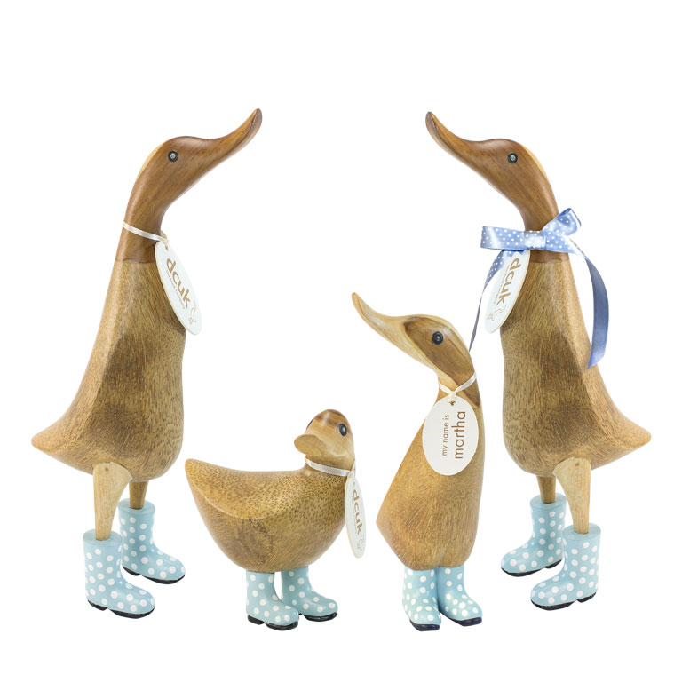 Fremragende Hand Crafted Character Wooden Duck Gifts|Personalised gifts SE08