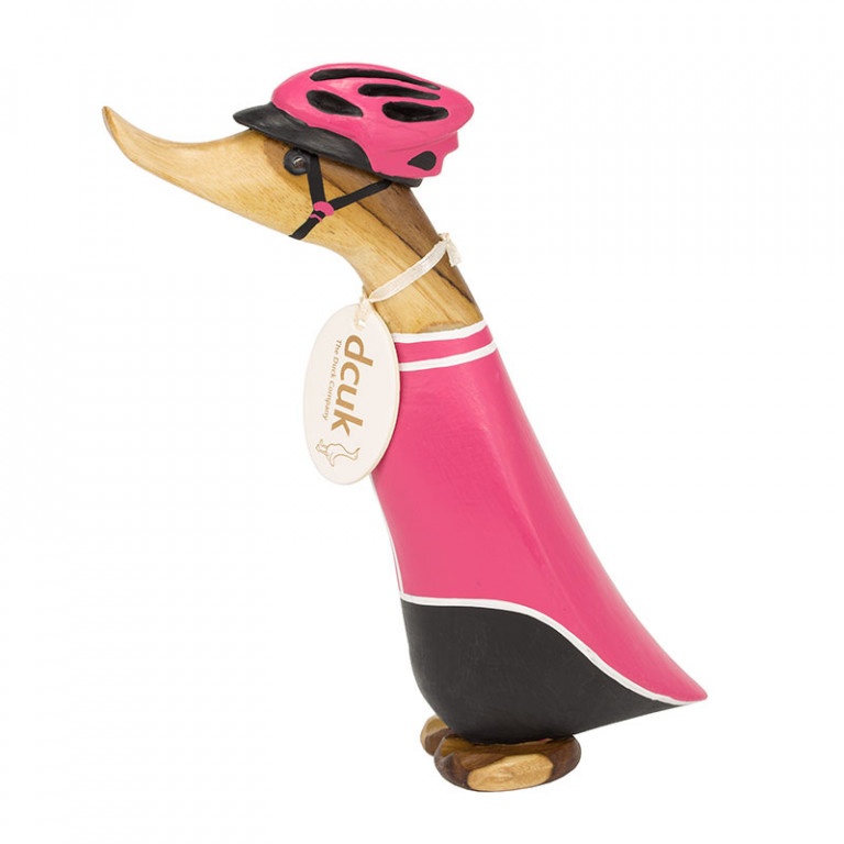 Cyclist Duckling - Pink Jersey