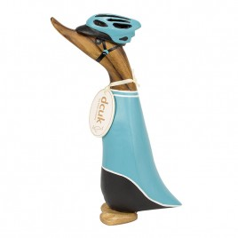 Cyclist Duckling - Turquoise Jersey
