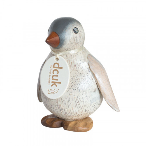 Wooden Painted Emperor Penguin - Baby