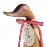 Coloured Welly Ducklet - Poppy Red