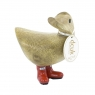Coloured Welly Ducky - Poppy Red