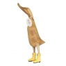 Natural Welly Duck -  Sunshine Yellow Welly Boots