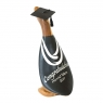 Graduation Duckling with Painted White Ribbons