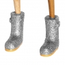 Disco Ducklet with Sparkly Silver Welly Boots