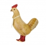 Disco Hen with Sparkly Red Boots