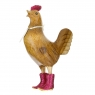 Disco Cockerel with Sparkly Pink Boots