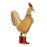Disco Cockerel with Sparkly Red Boots