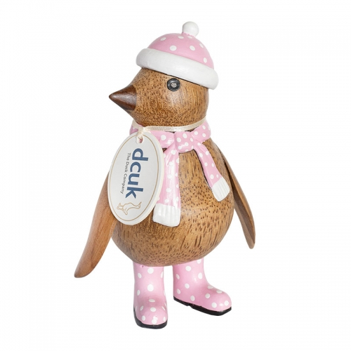 Winter Woolly Baby Penguin (Pink)