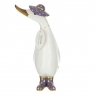 Touch of Gold White Duckling - Purple
