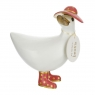Touch of Gold White Ducky - Coral