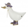 Touch of Gold White Ducky - Purple