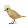 Flower Garden Bird with a Lime Green Hat
