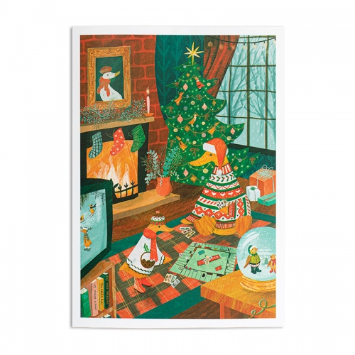 Cosy Christmas Greetings Card