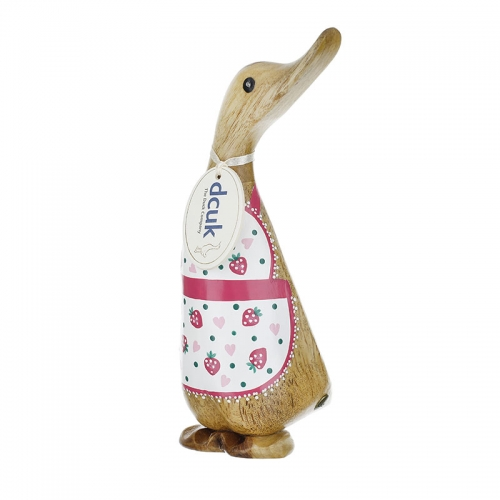 Baker Duckling with a Strawberry Apron
