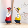Cyclist Dinky Duck (Yellow)