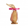 Personalised Natural Duckling with Crystal Heart - Pose 1