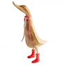 Natural Welly Duck - Poppy Red Welly Boots