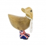 Natural Welly Walking Ducky - Union Jack